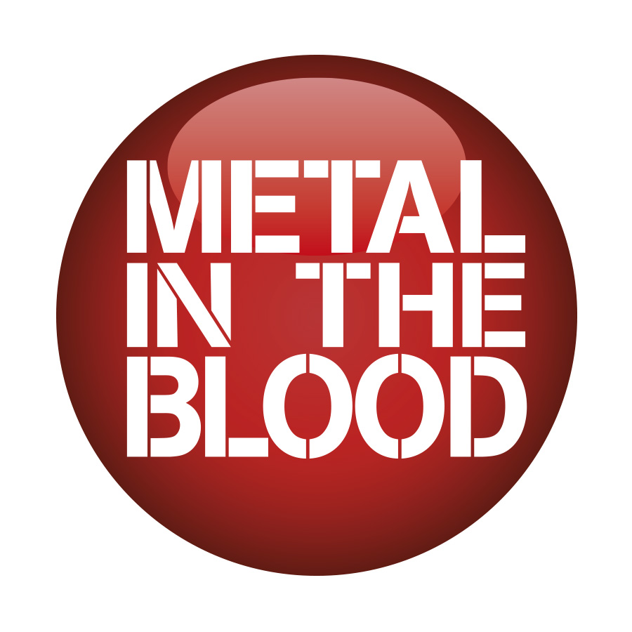 Metal In The Blood Music Website Logo